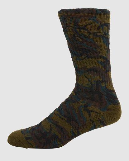 4 Rvca Seasonal Sock 4 Pack  R105601 RVCA