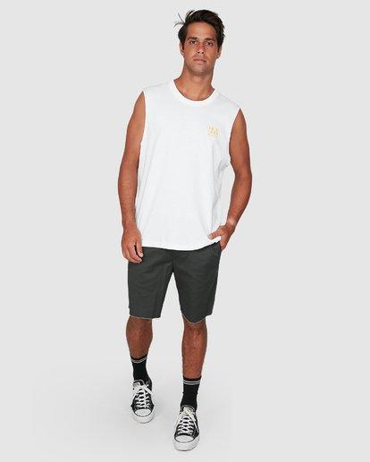 5 Rvca Straya Muscle Top White R106001 RVCA