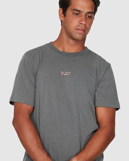 3 Cantina Short Sleeve Tee  R106057 RVCA