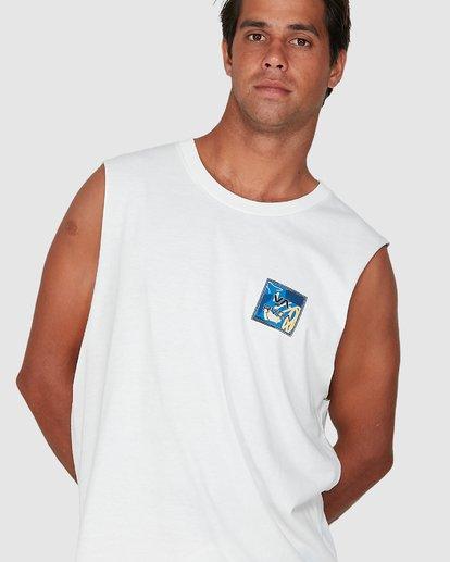 3 Va Atw Er Muscle Top White R106063 RVCA