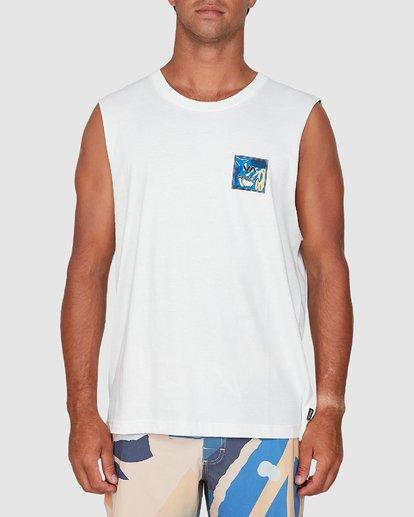 0 Va Atw Er Muscle Top White R106063 RVCA