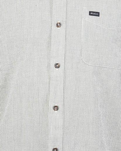 4 Endless Seersucker Short Sleeve Shirt Green R106189 RVCA