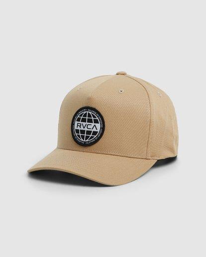 0 Worldwide Pinched Trucker Cap  R106567 RVCA
