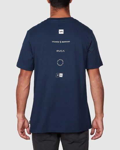 3 Upside Short Sleeve Tee  R107042 RVCA