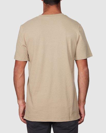 3 Attacker Short Sleeve Tee  R107056 RVCA
