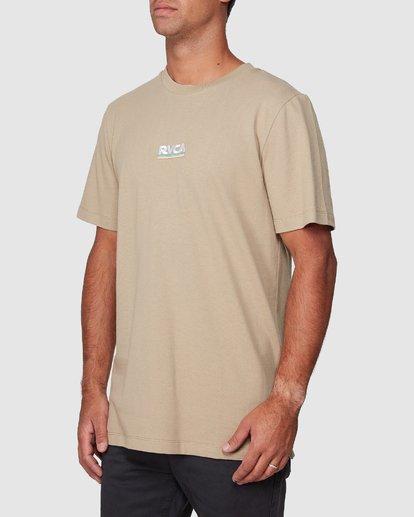 2 Attacker Short Sleeve Tee  R107056 RVCA