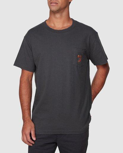 0 Spicy Pocket Short Sleeve Tee  R107057 RVCA