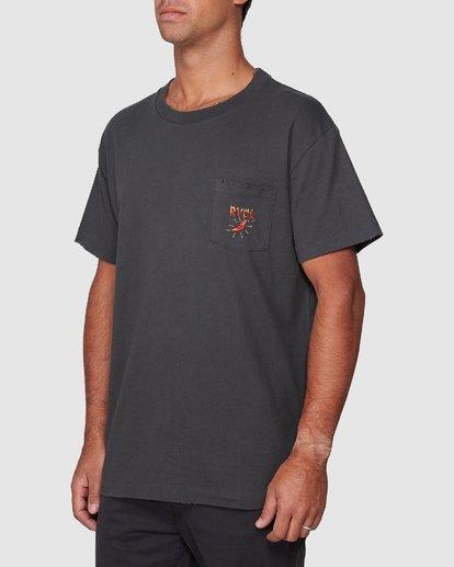2 Spicy Pocket Short Sleeve Tee  R107057 RVCA