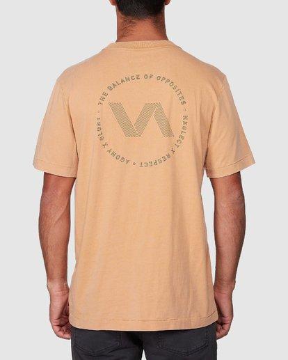 3 Sound Waves Short Sleeve Tee  R107058 RVCA