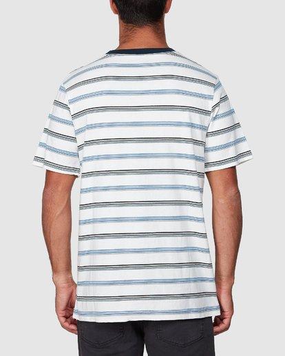 3 Aloha Stripe Short Sleeve Tee  R107061 RVCA