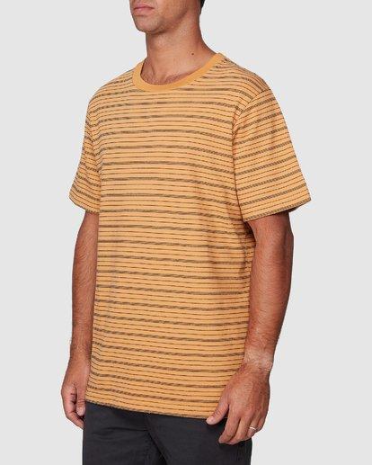 2 Rain Stripe Short Sleeve Tee  R107062 RVCA