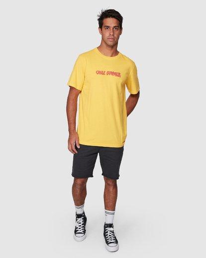 5 Cruel Summer Short Sleeve Tee  R107064 RVCA