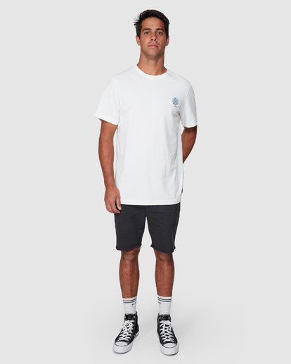 5 DMOTE Aloha Short Sleeve Tee  R107065 RVCA