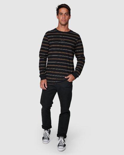 5 Merc Stripe Long Sleeve Tee  R107095 RVCA