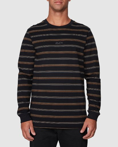 1 Merc Stripe Long Sleeve Tee  R107095 RVCA