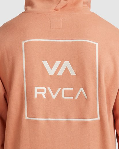 3 RVCA ALL THE WAYS HOODIE Pink R107152 RVCA