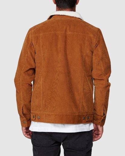3 Daggers Cord Sherpa Jacket  R107433 RVCA