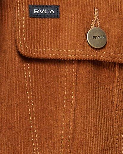 4 Daggers Cord Sherpa Jacket  R107433 RVCA