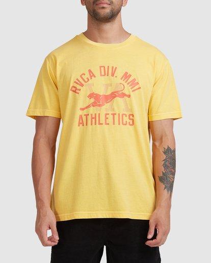 0 Athletic Short Sleeve Tee White R115044 RVCA