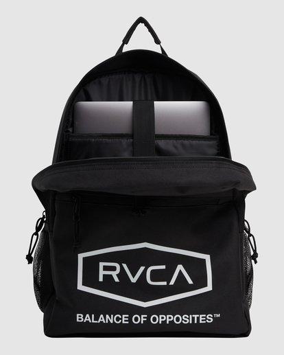 4 Rvca Hex Backpack Black R115451 RVCA