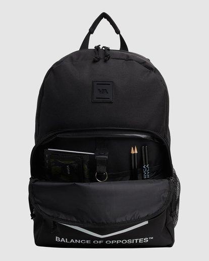 5 Rvca Hex Backpack Black R115451 RVCA
