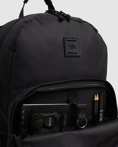 6 Rvca Hex Backpack Black R115451 RVCA