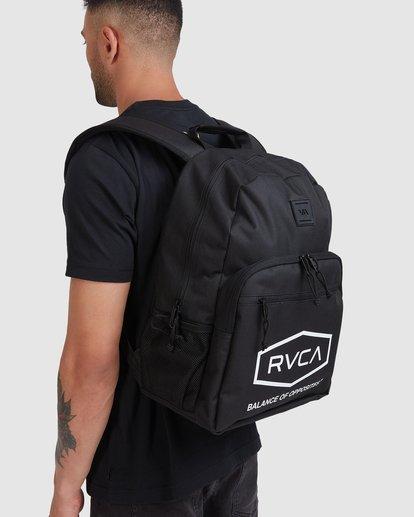 8 Rvca Hex Backpack Black R115451 RVCA