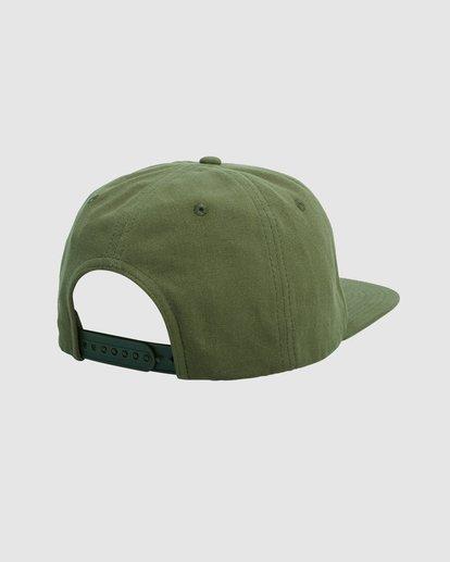 1 Exotic Snapback cap Green R115561 RVCA