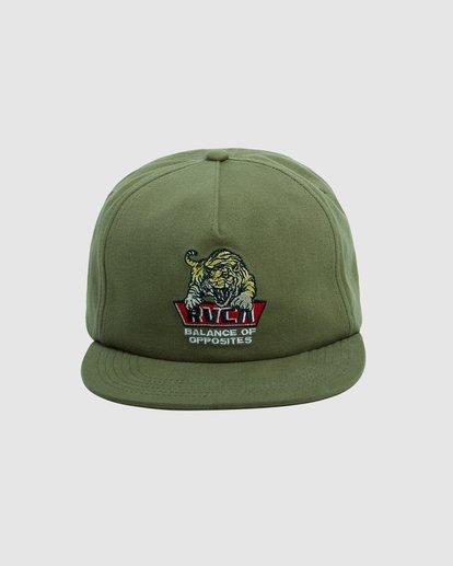 2 Exotic Snapback cap Green R115561 RVCA