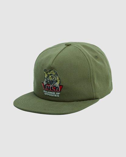 0 Exotic Snapback cap Green R115561 RVCA