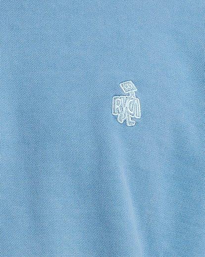 3 Peace March Crew Blue R117154 RVCA