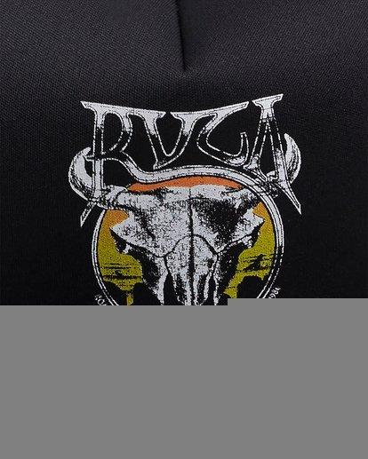 5 DEATH VALLEY FOAM SNAPBACK Black R117562 RVCA