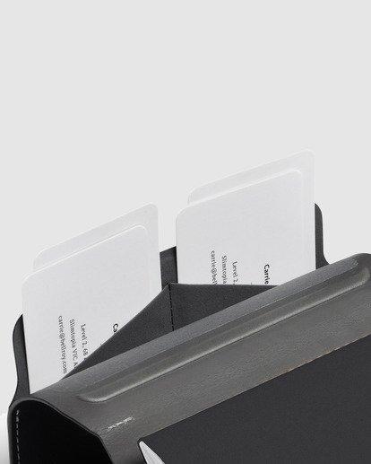 3 Bellroy X RVCA  Notebook Cover Black R117601 RVCA