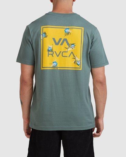 0 VA ALL THE WAYS MULTI TEE Green R182062 RVCA