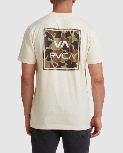 0 VA ALL THE WAYS MULTI TEE White R182062 RVCA