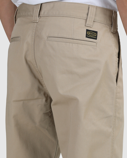 3 Recession | Americana Relaxed Fit Chino Pants Green R191271 RVCA
