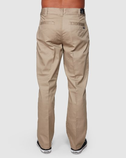 1 Recession | Americana Relaxed Fit Chino Pants Beige R191271 RVCA