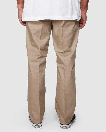 3 Recession | Americana Relaxed Fit Chino Pants Beige R191271 RVCA