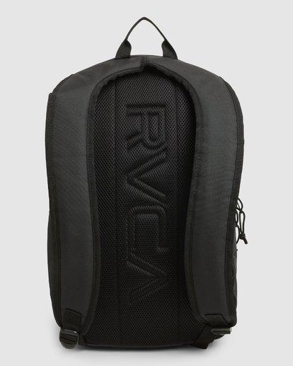 2 Rvca Down The Line Backpack Black R192451 RVCA