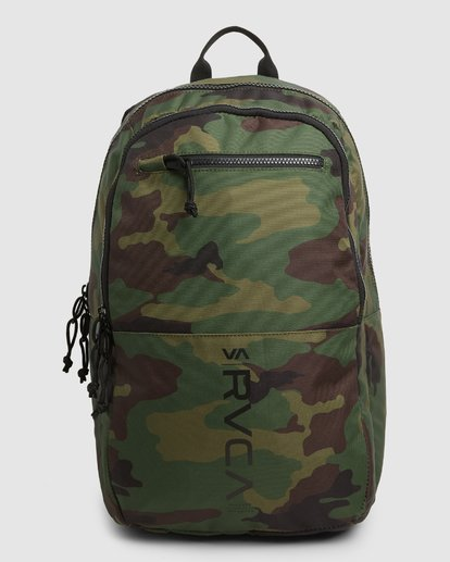 0 Rvca Down The Line Backpack Camo R192451 RVCA