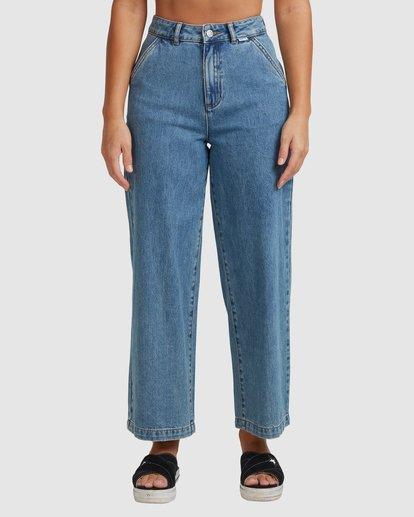 4 Fresh Prince Pants Blue R207277 RVCA