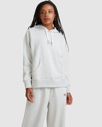 0 RVCA MULTI HOODIE White R218151 RVCA