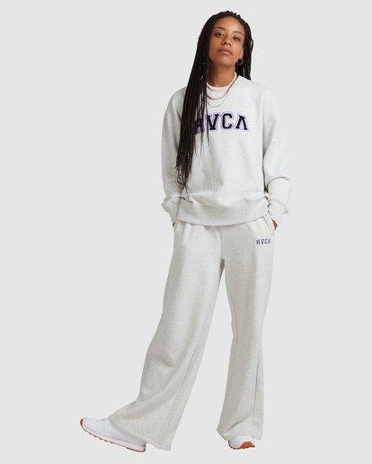 5 RVCA ARCH CREW White R218152 RVCA