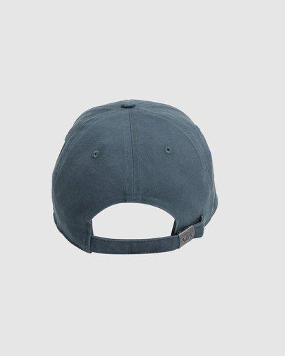 2 Va Baseball Cap Green R283561 RVCA