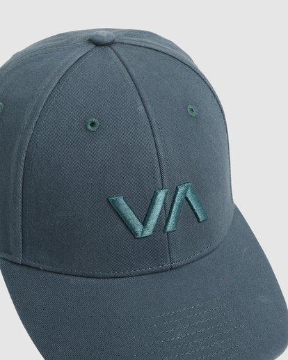 4 Va Baseball Cap Green R283561 RVCA