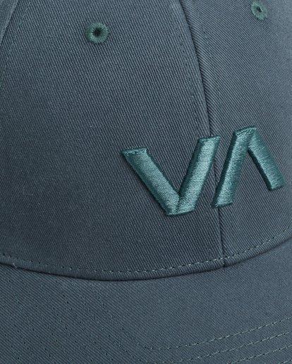 5 Va Baseball Cap Green R283561 RVCA