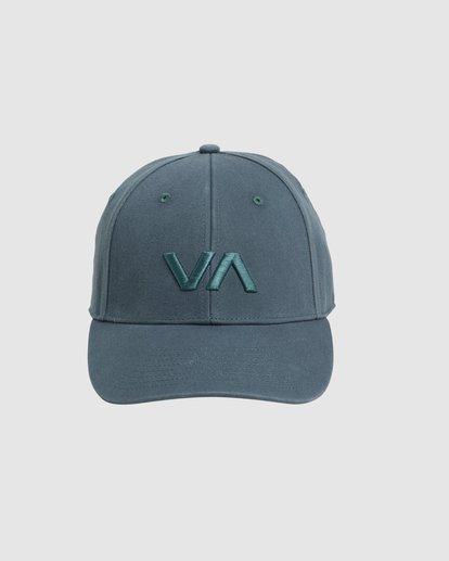 0 Va Baseball Cap Green R283561 RVCA