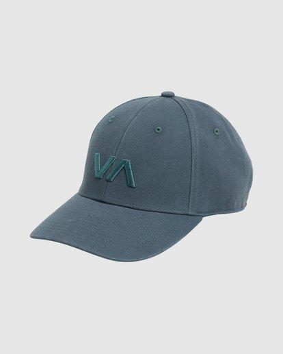 3 Va Baseball Cap Green R283561 RVCA