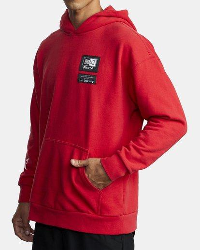 1 EVERLAST SPORT HOODIE Red R305164 RVCA