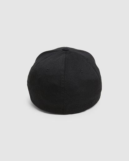 2 SHANE FLEXFIT Black R305577 RVCA